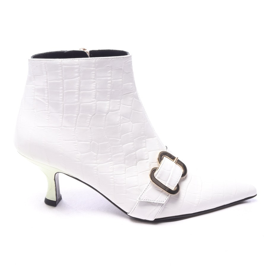 ankle boots from Erdem in know size EUR 36 - sienna embossed leather ankle boot - new