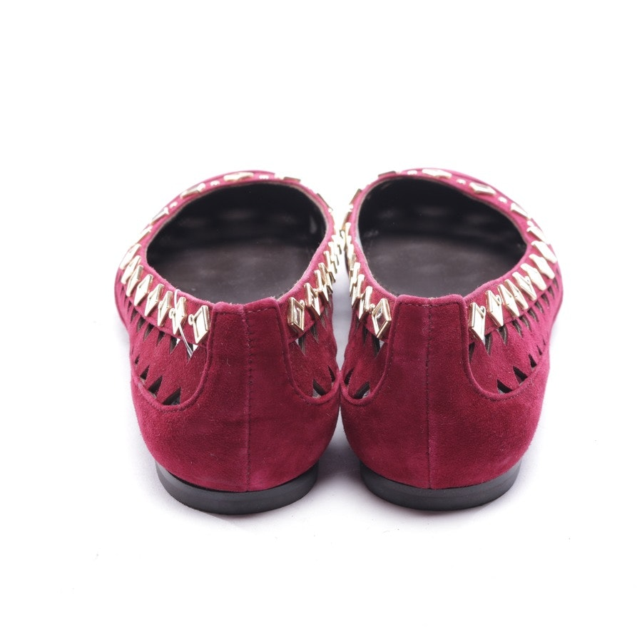 loafers from Tory Burch in burgundy size D 38 US 7,5