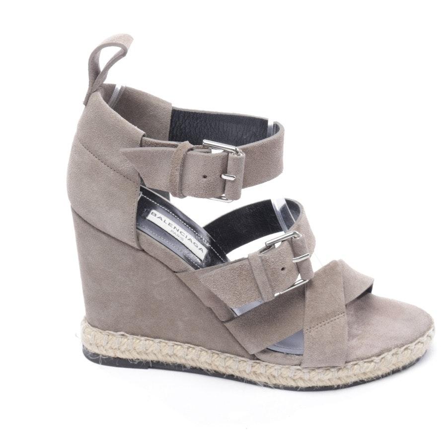 Sandaletten von Balenciaga in Grau Gr. D 36