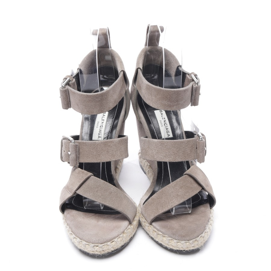 heeled sandals from Balenciaga in gray size D 36