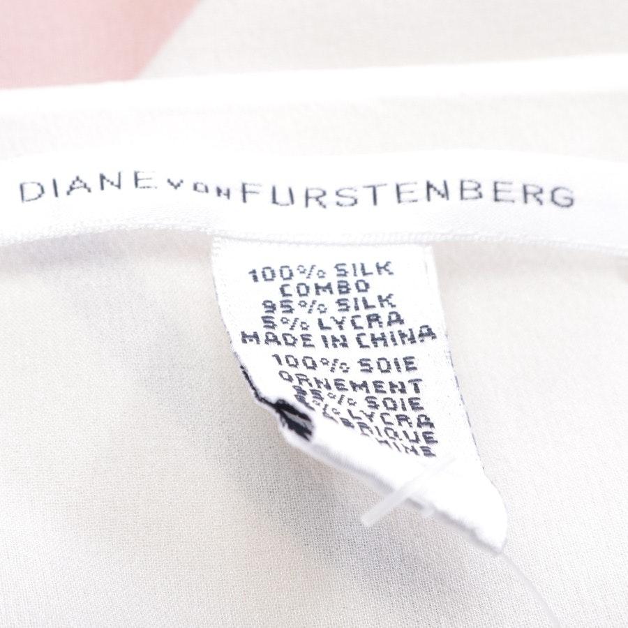 Seidenkleid von Diane von Furstenberg in Multicolor Gr. 34 US 4