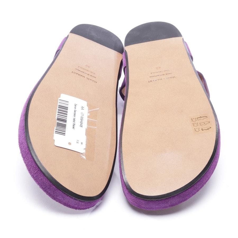 Sandalen von Isabel Marant in Lila Gr. EUR 40