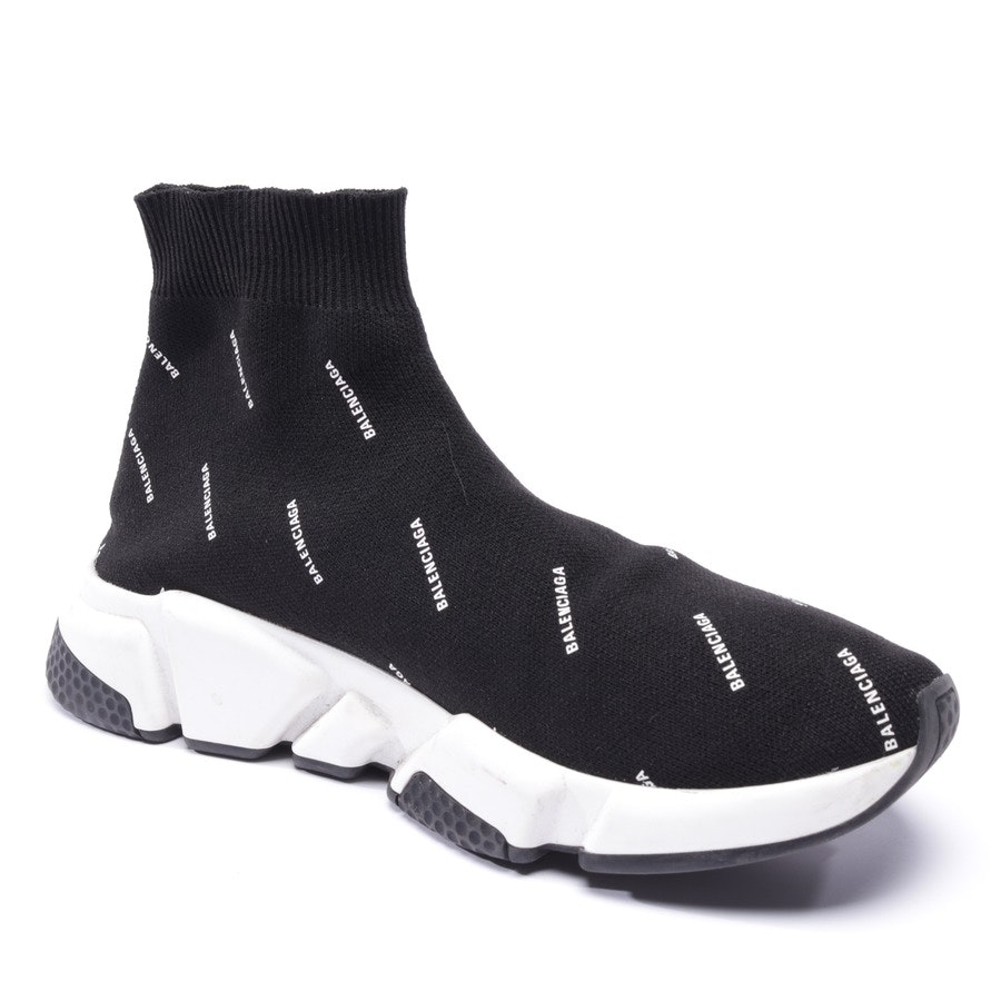 trainers from Balenciaga in black and white size D 39