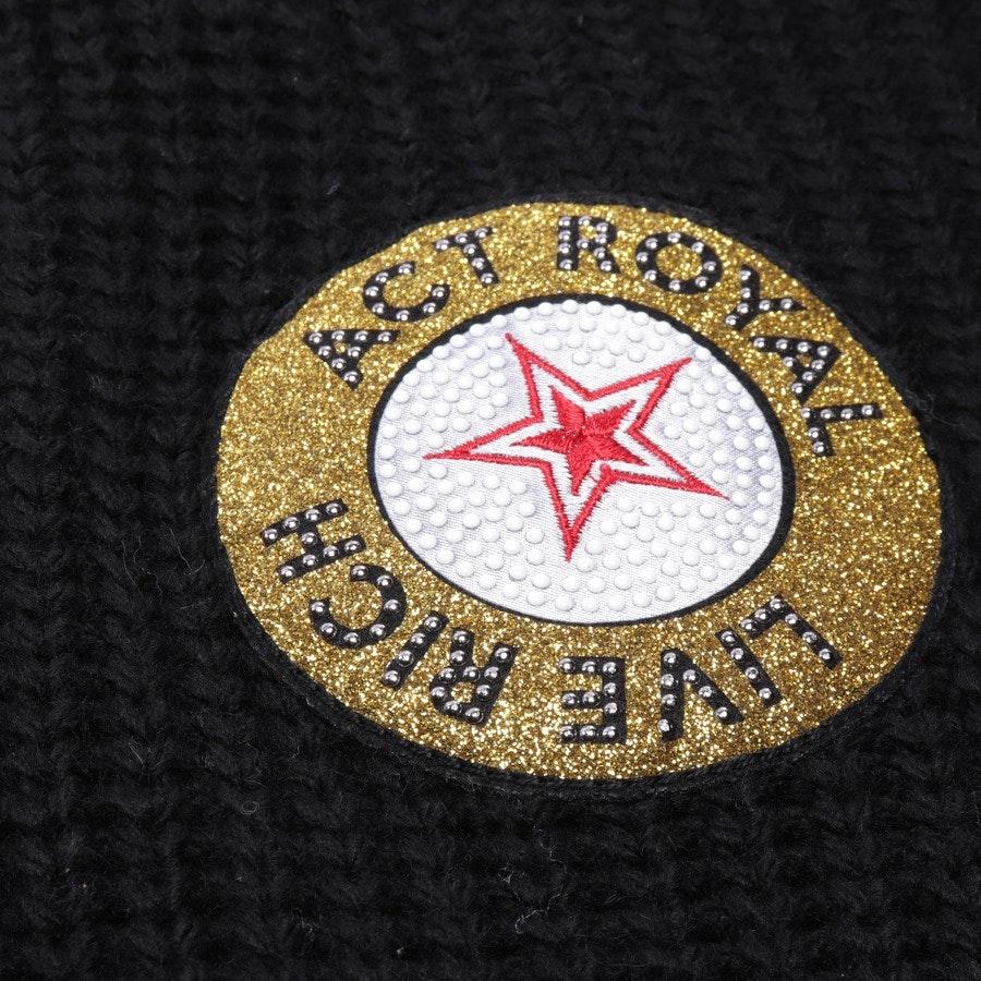 knitwear from Rich & Royal in black size L