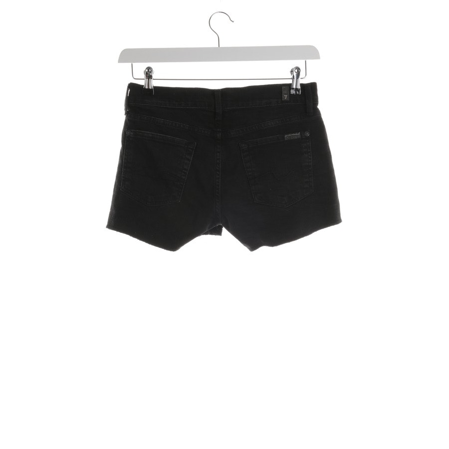 shorts from 7 for all mankind in black size W26