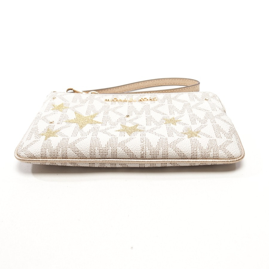 pochette from Michael Kors in cream and gold