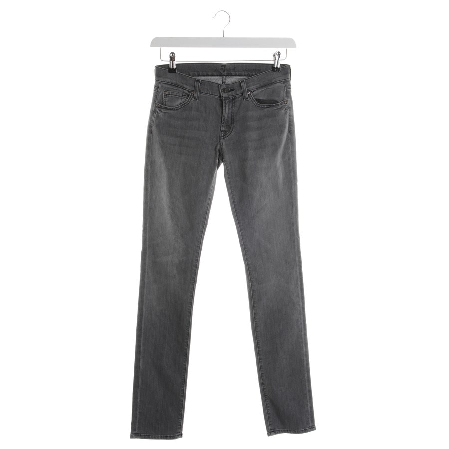 Jeans von 7 for all mankind in Grau Gr. W27 - Roxanne