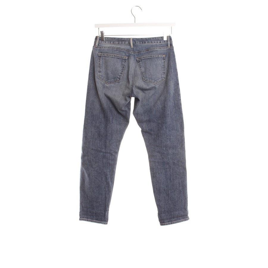 Jeans von Koral in Jeansblau Gr. W24 - Crop Relaxed Selvage Skinny