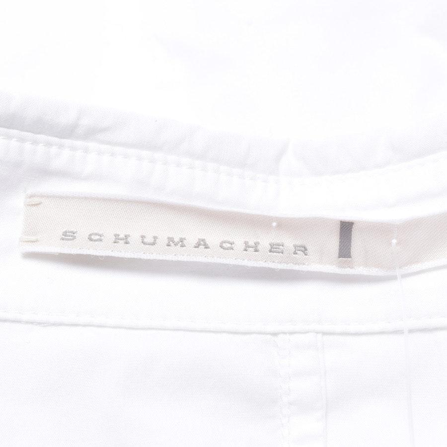 Bluse von Schumacher in Weiß Gr. 36 / 2