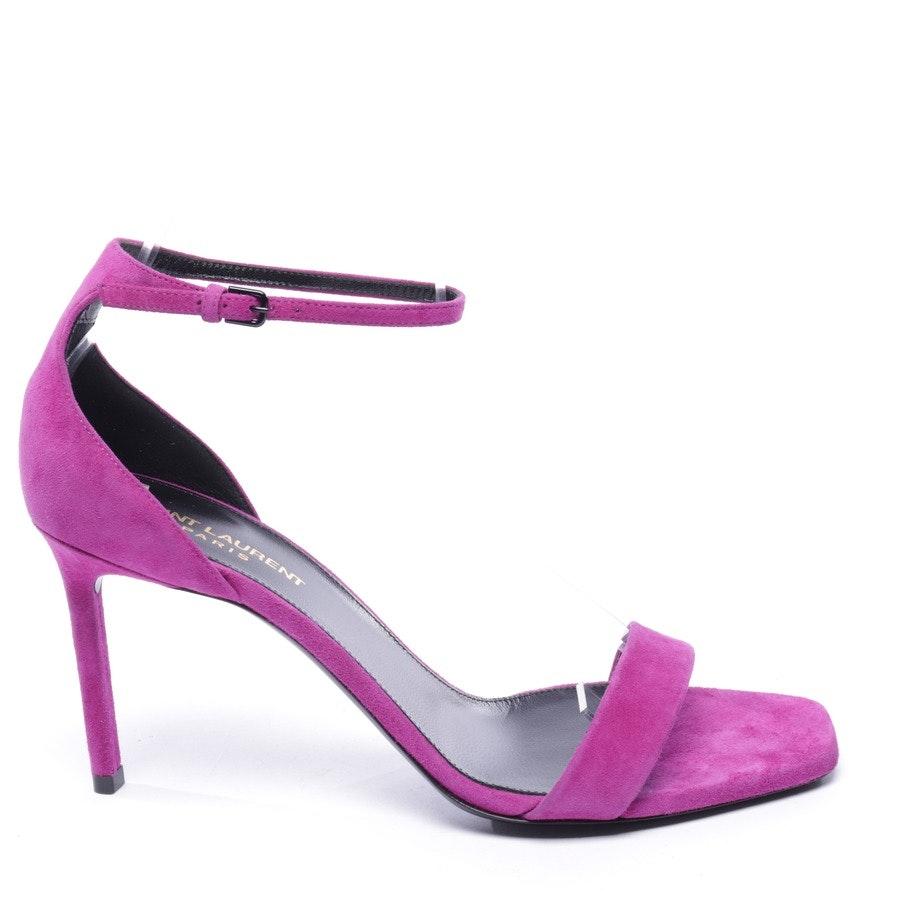 Sandaletten von Saint Laurent in Lila Gr. EUR 39,5 - Neu