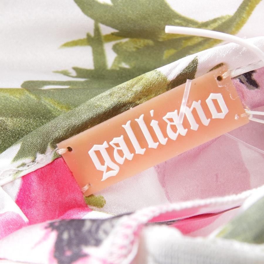 Seidenkleid von John Galliano in Multicolor Gr. DE 32 IT 38 - Neu