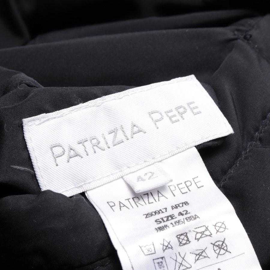 Wendejacke von Patrizia Pepe in Dunkelblau und Schwarz Gr. 36 IT 42