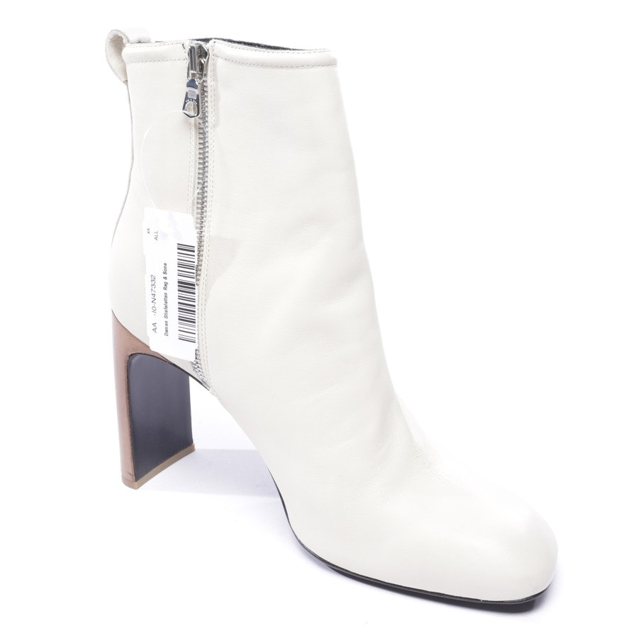 ankle boots from Rag & Bone in cream size EUR 40 - new