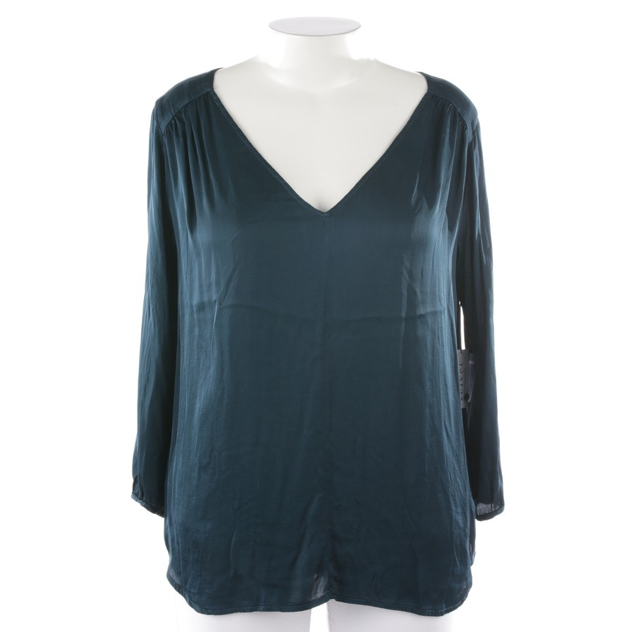 Bluse von Velvet by Graham and Spencer in Petrol Gr. L - Neu