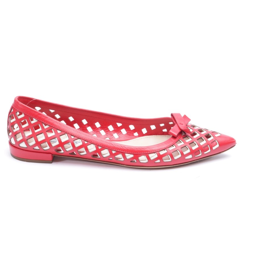 loafers from Prada in red and white size EUR 37,5