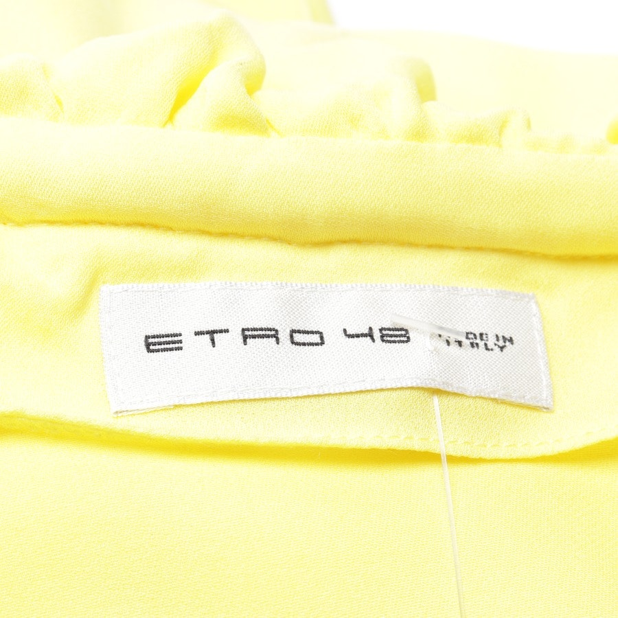 blouses & tunics from Etro in yellow size 42 IT 48 - new