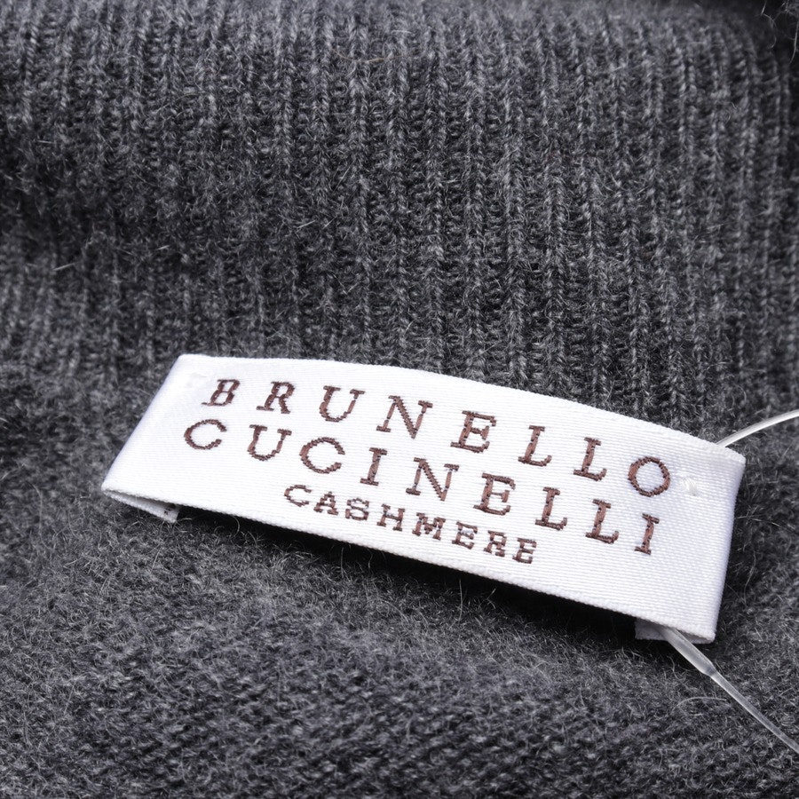 knitwear from Brunello Cucinelli in grey size M