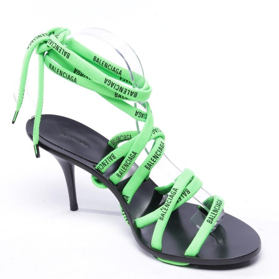 Sandaletten von Balenciaga in Neon Grün Gr. EUR 39,5