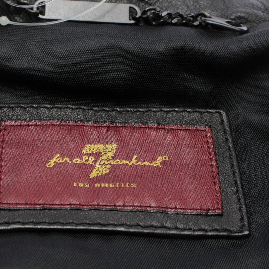 Lederjacke von 7 for all mankind in Schwarz Gr. S