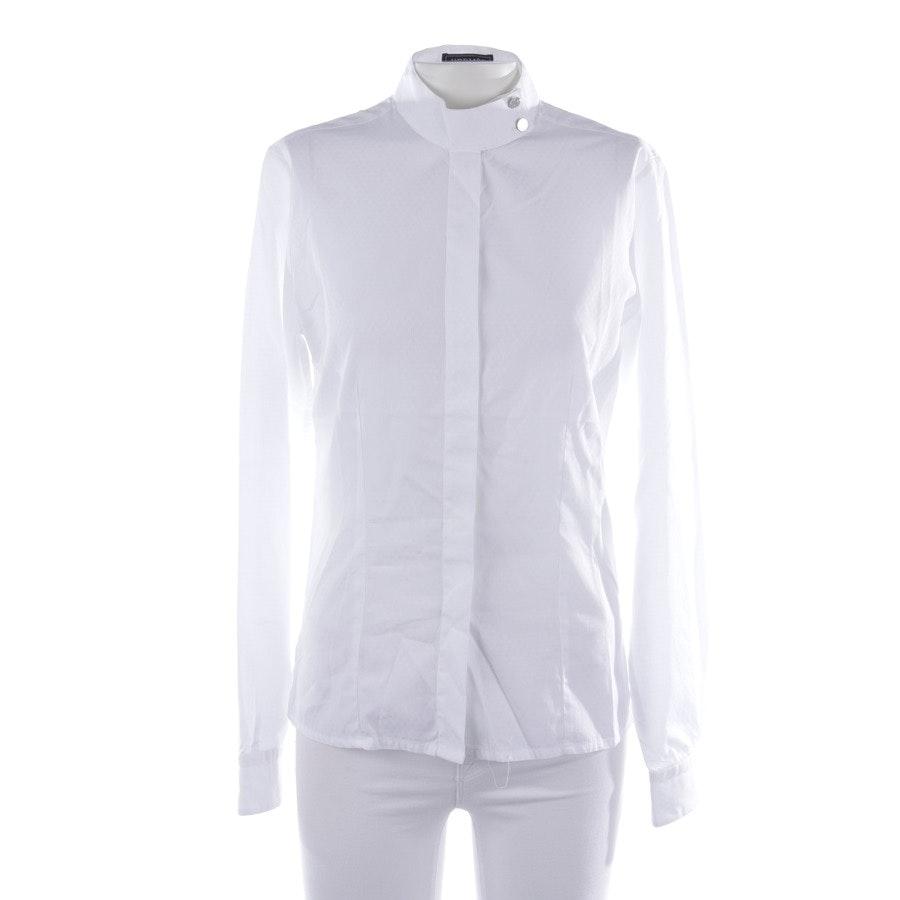Bluse von Hermès in Weiß Gr. 36 FR 38