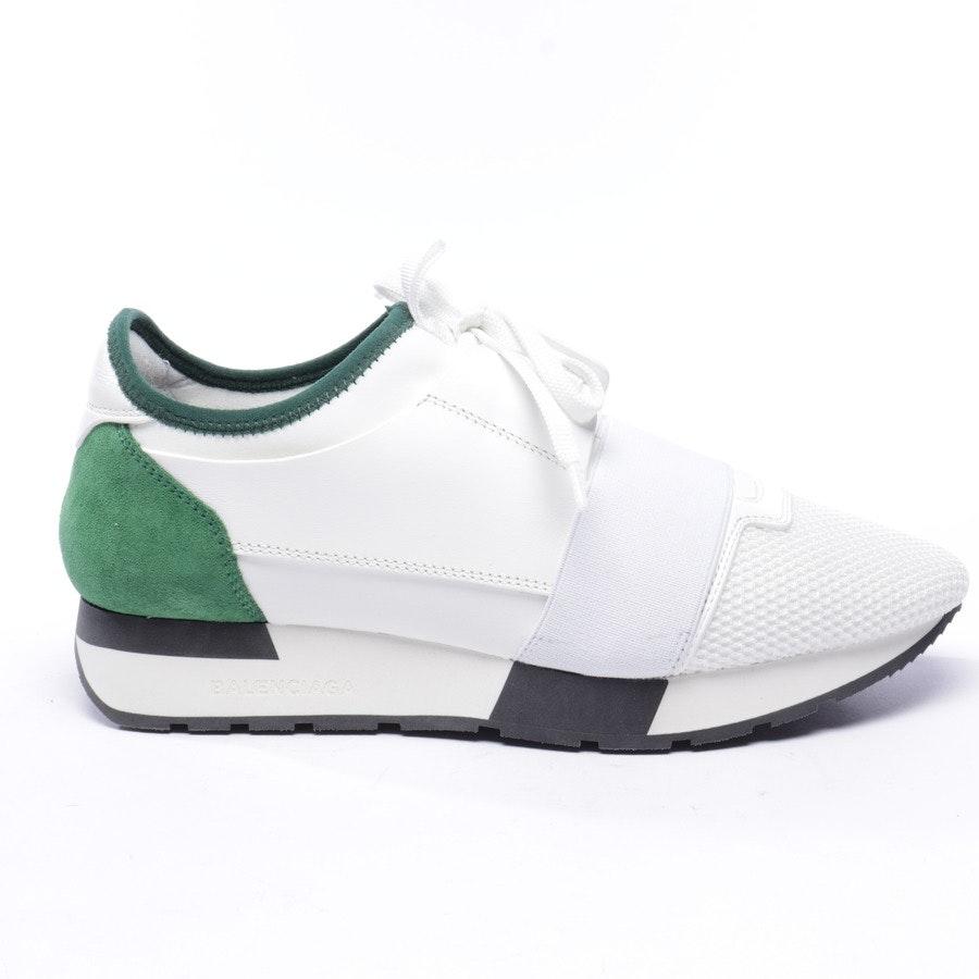 Sneaker von Balenciaga in Weiß und Grün Gr. EUR 38 - Neu