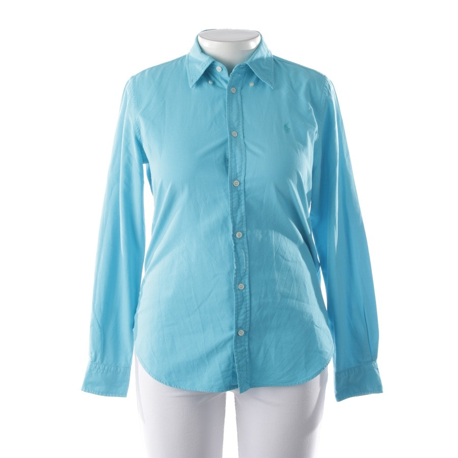 Bluse von Polo Ralph Lauren in Blau Gr. 44 US 14