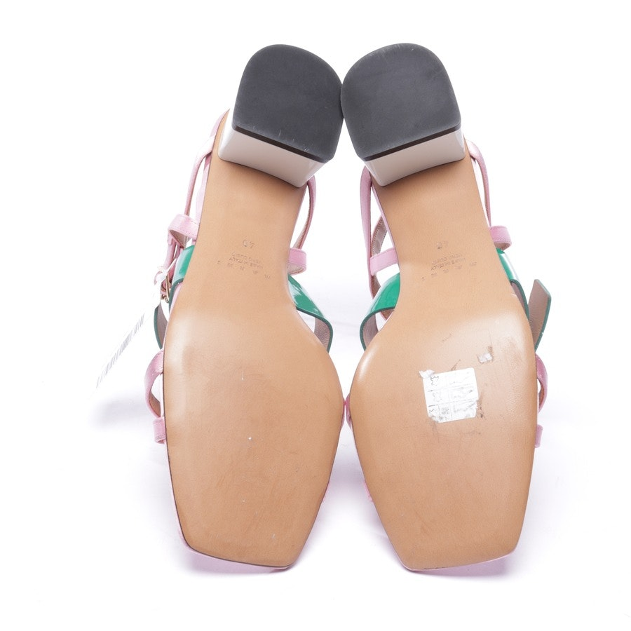 heeled sandals from Marni in multicolor size EUR 40 - new