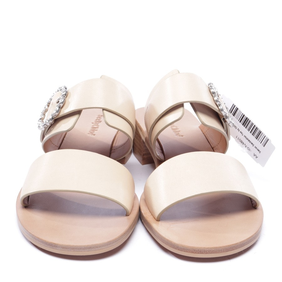 heeled sandals from See by Chloé in beige size EUR 38 - new