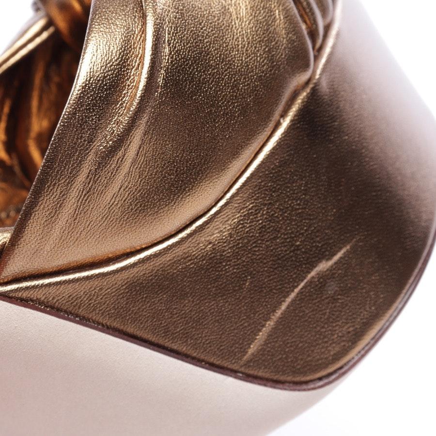 Sandaletten von Dolce & Gabbana in Gold Gr. EUR 40 - Neu