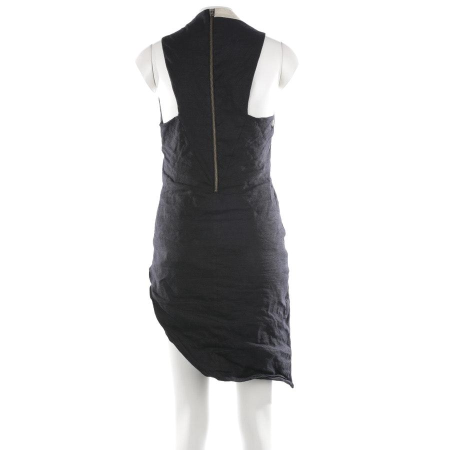 Kleid von Helmut Lang in Schwarz und Beige Gr. 36 US 6