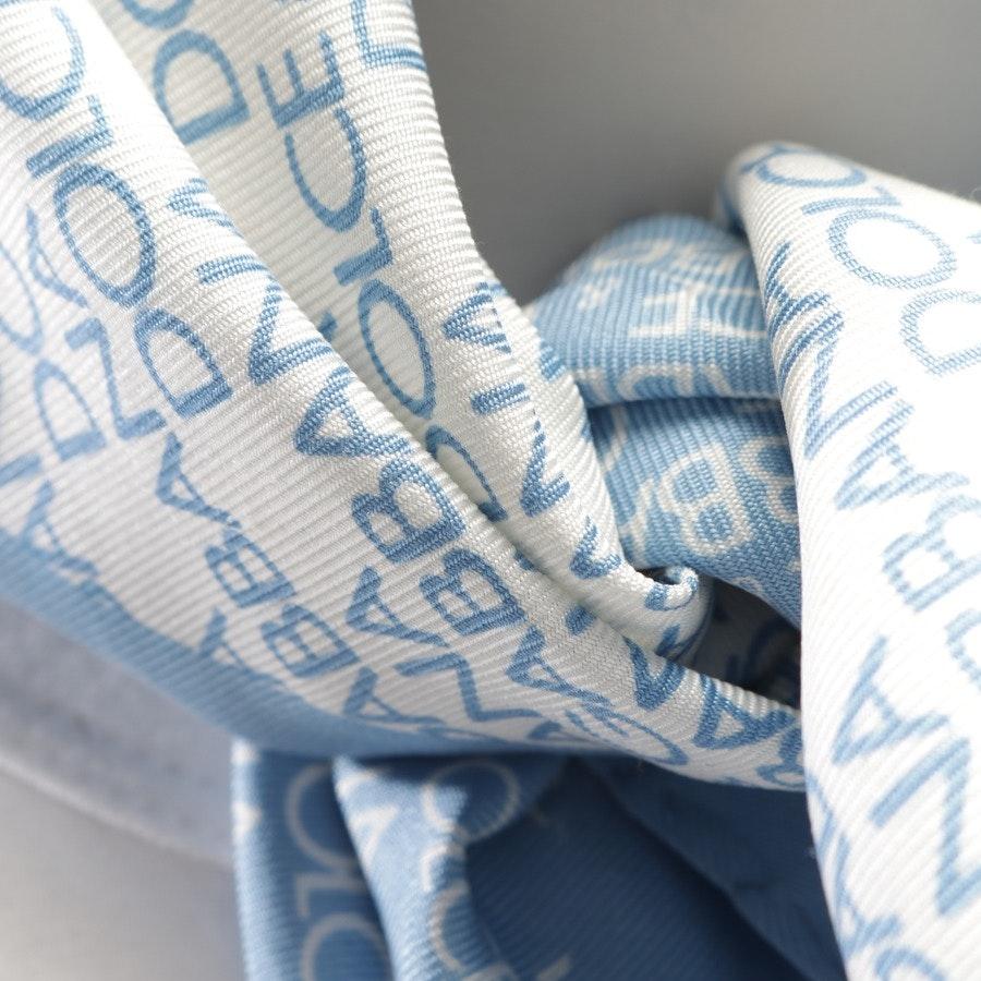 Seidentuch von Dolce & Gabbana in Hellblau und Weiß