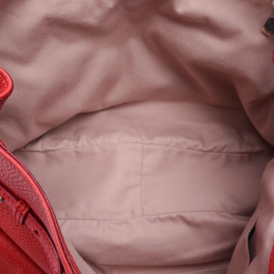 handbag from Salvatore Ferragamo in red