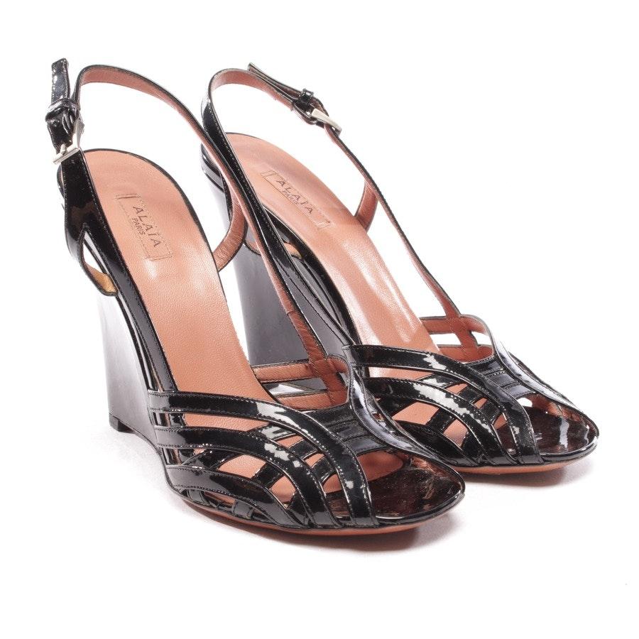 Sandaletten von Alaia in Schwarz Gr. D 37