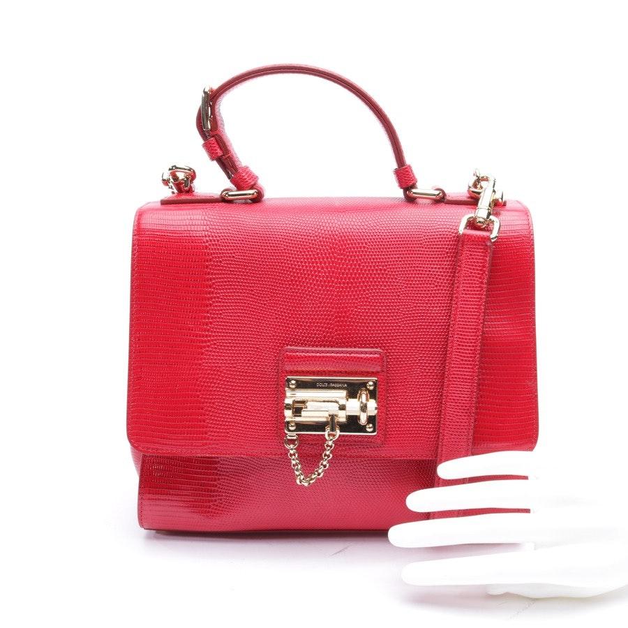 Handtasche von Dolce & Gabbana in Rot
