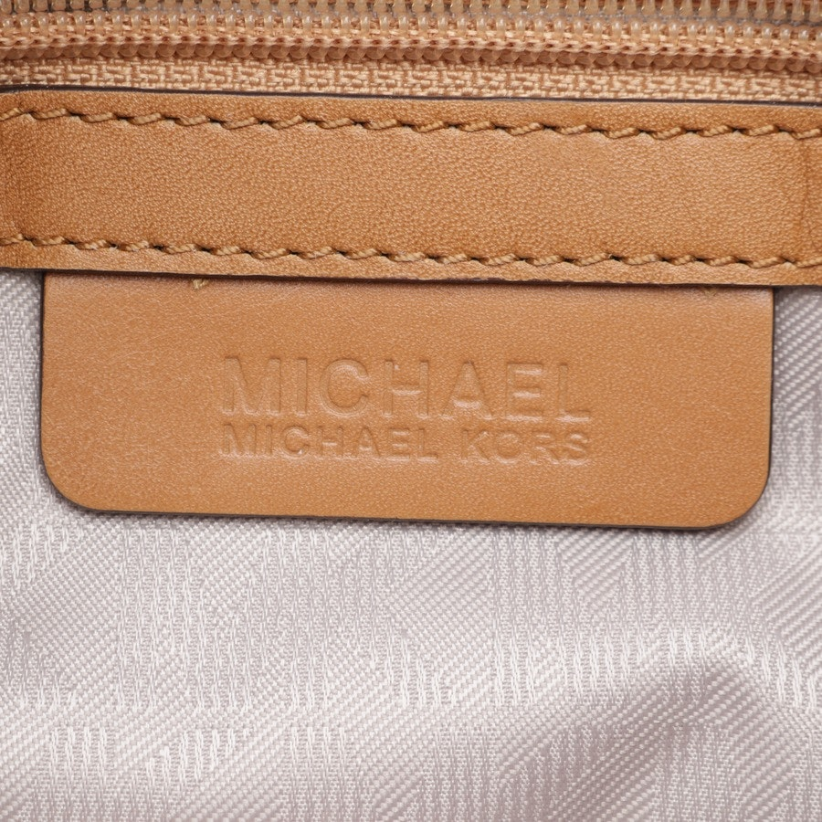 shoulder bag from Michael Kors in lilac and brown