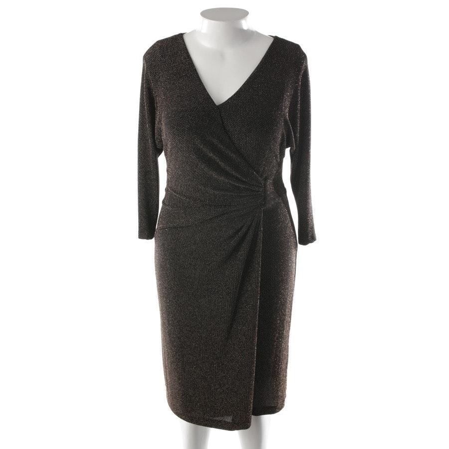 Kleid von Lauren Ralph Lauren in Schwarz und Gold Gr. 44 US 14