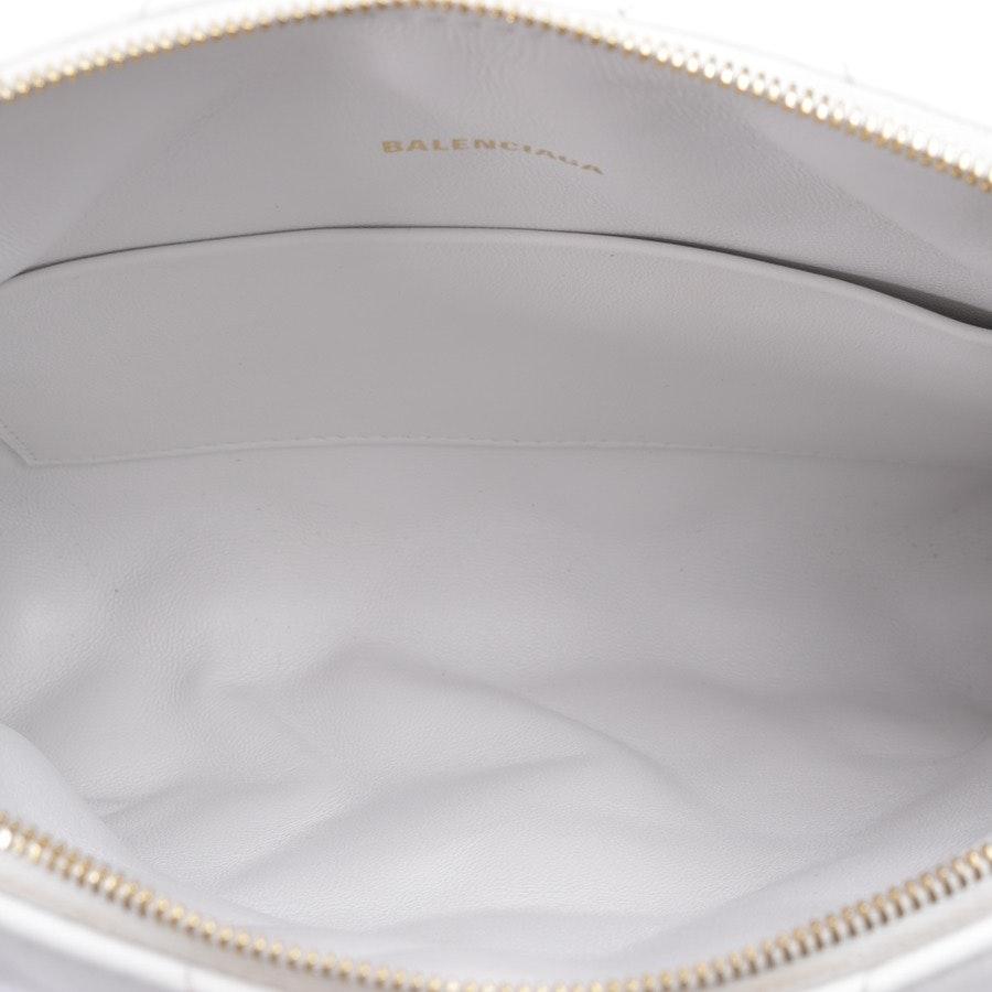 Umhängetasche von Balenciaga in Weiß - Camera Bag