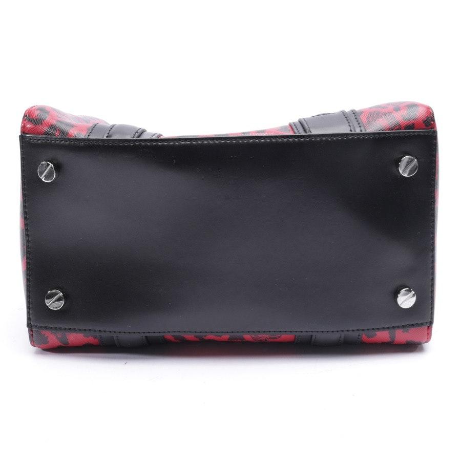 Handtasche von Versace Versus in Rot und Schwarz