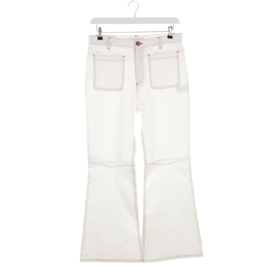 Jeans von See by Chloé in Weiß Gr. 42 FR 44