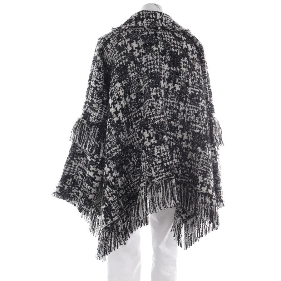 Winterjacke von Dolce & Gabbana in Wollweiß und Schwarz Gr. 36 IT 42