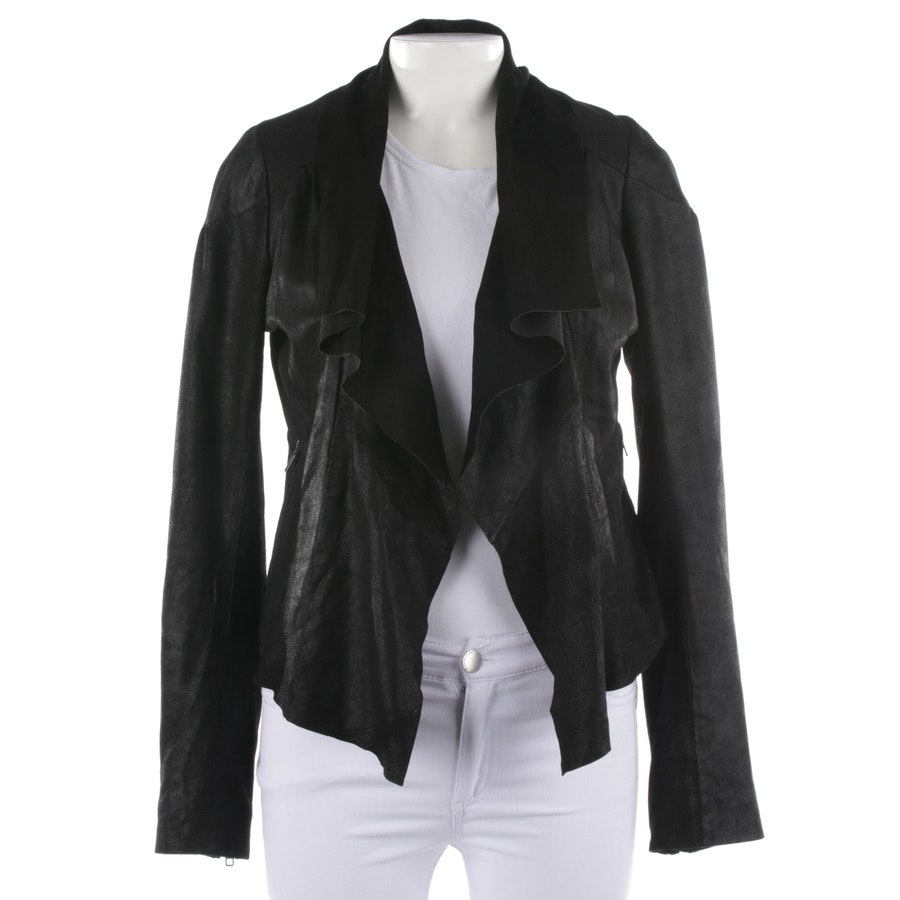 leather jacket from Maje in black size 38 FR 40
