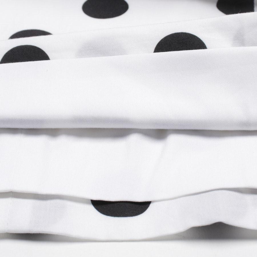 Kleid von Caroline Constas in Weiß und Schwarz Gr. S - Neu