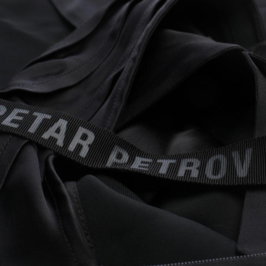 Abendkleid von Petar Petrov in Schwarz Gr. 34 FR 36 - Neu