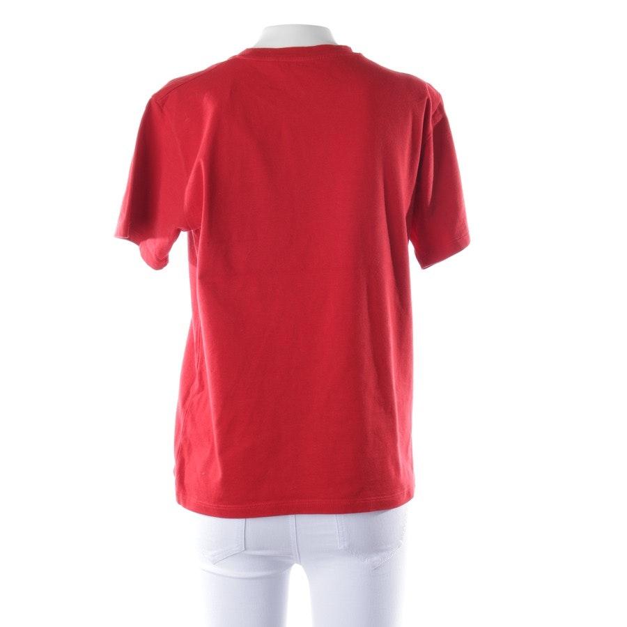 Shirt von Victoria Beckham in Rot und Schwarz Gr. 36