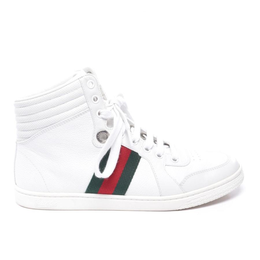 High-Top Sneaker von Gucci in Weiß und Multicolor Gr. EUR 37,5