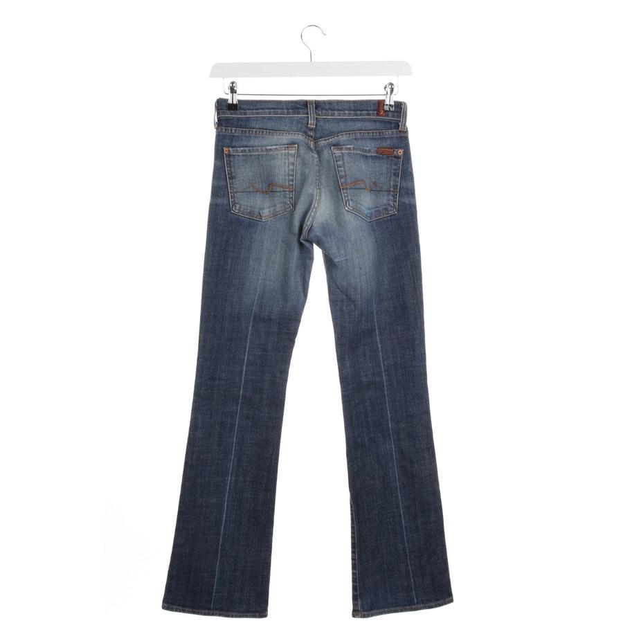 Jeans von 7 for all mankind in Mittelblau Gr. W27
