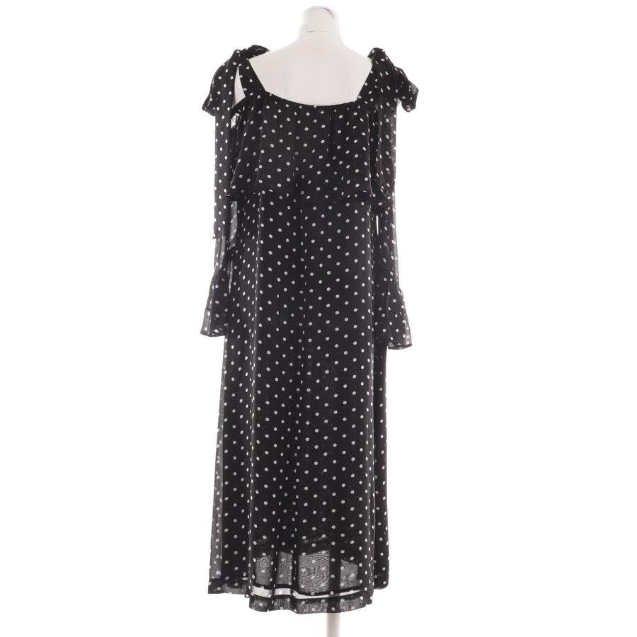 Kleid von Ganni in Schwarz und Weiß Gr. 42