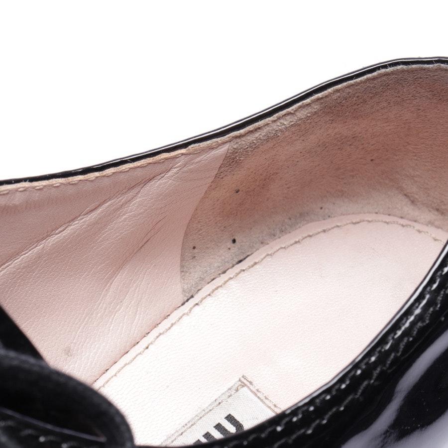 Schnürschuhe von Miu Miu in Schwarz Gr. EUR 36