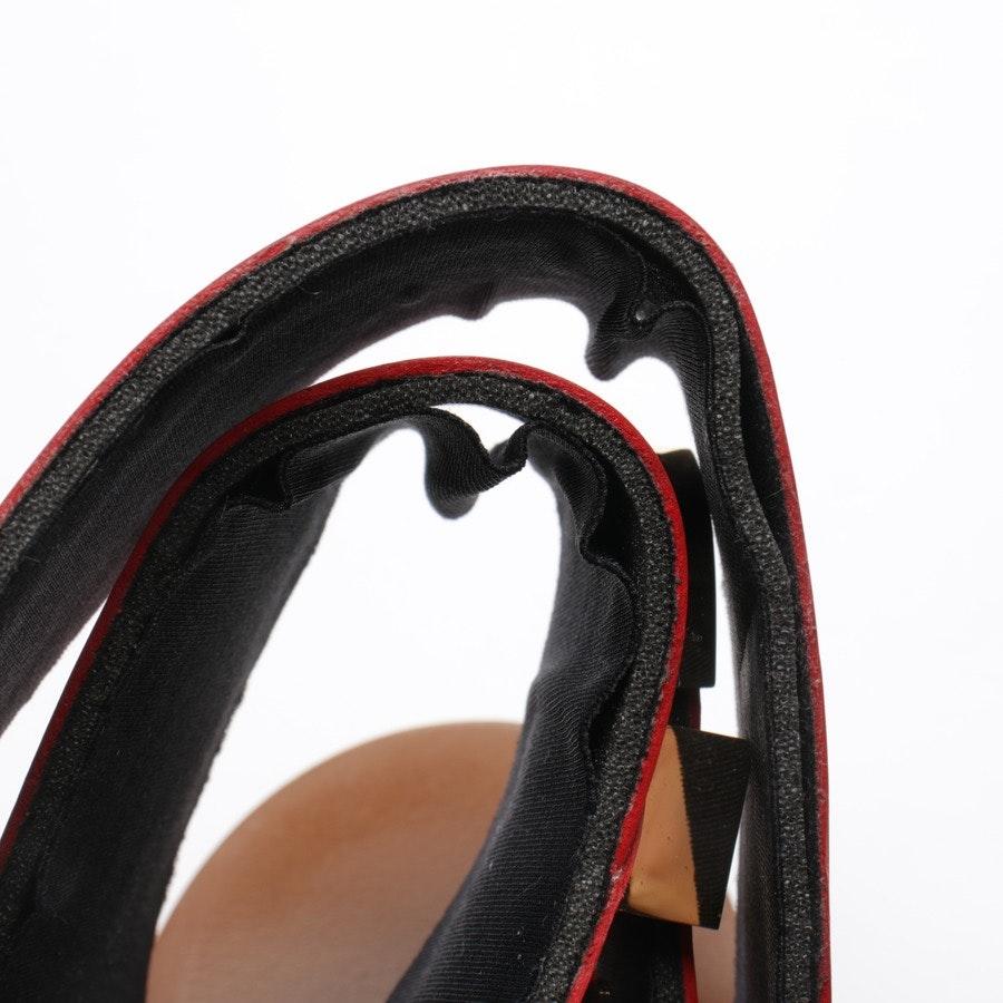 Zehentrenner von Balenciaga in Rot Gr. D 39