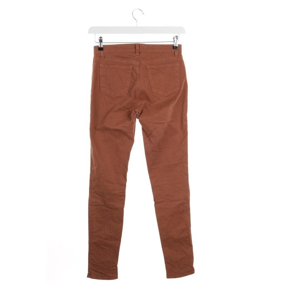 Jeans von J Brand in Rotbraun Gr. W25 - Maria
